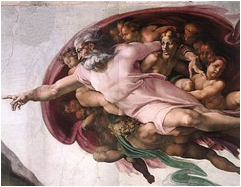 La Creazione di Adamo di Michelangelo. Tra linguaggio artistico e ...